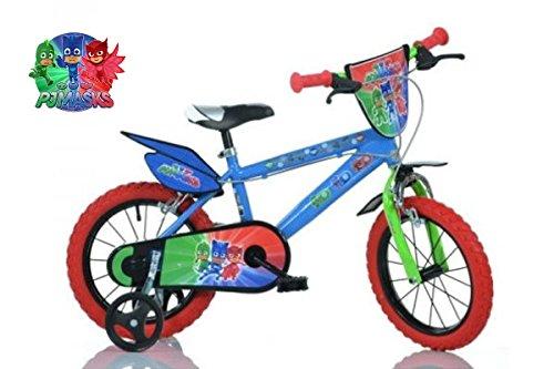 "Bicicletta Pj Masks Super Pigiamini 14"""