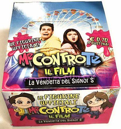 Box 40 pacchetti di figurine Me Contro Te: La vendetta del Signor S