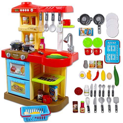 Cucina Giocattolo con Luci e Suoni My Little Chef - Include 30 Accessori