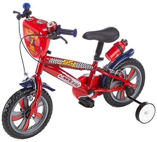 Bicicletta con rotelle Disney Cars 12 pollici