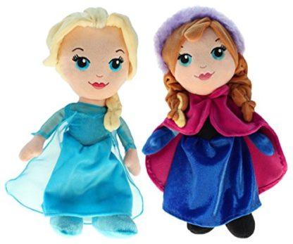 Bambola in peluche Elsa e Anna - Disney Frozen