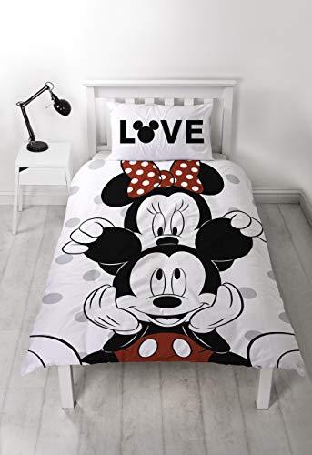 Parure copripiumino singolo reversibile Minnie & Mickey