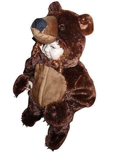 Costume Orso 2-3 anni