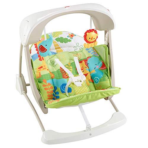 Baby Gear Seggiolino Altalena Salvaspazio Fisher Price