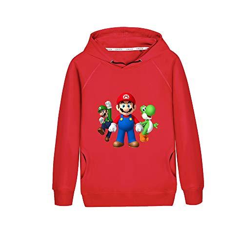 Felpa con cappuccio Super Mario Bros