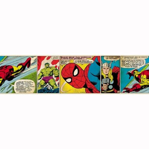 Bordo adesivo Marvel Heroes 5mt