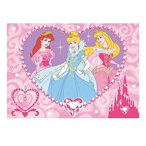 Disney Princess: Tappeto 133 x 95 cm