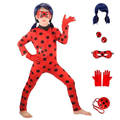 Costume Miraculous Ladybug Taglia 8-10 anni