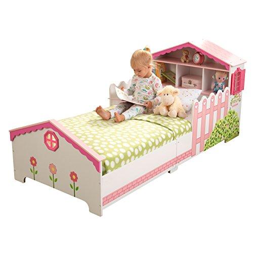 Lettino Stile Casa delle Bambole con Giroletto in Legno