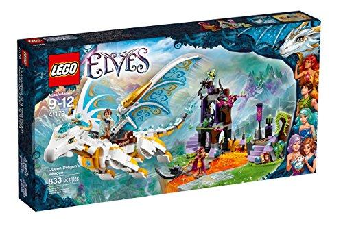 Il salvataggio della regina drago Lego Elves