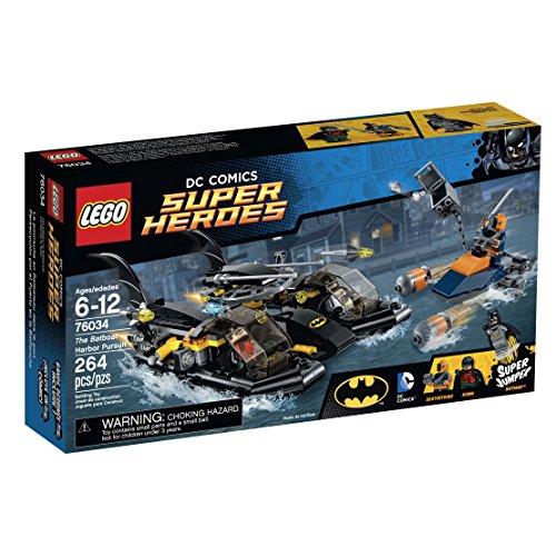 LEGO Super Heroes - The Batboat Harbor Pursuit