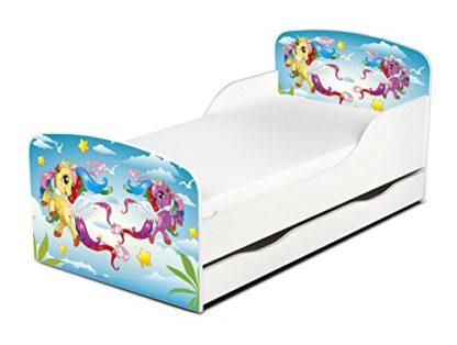 Lettino Magical Pony con cassettone incluso