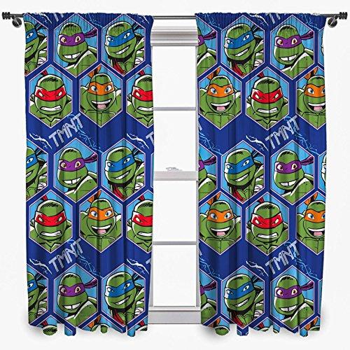 Tende per cameretta TMNT Ninja Turtles