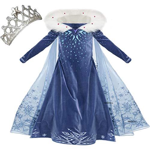 Costume in velluto Elsa