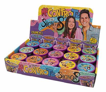 Me Contro Te - 2 Slime in 1 Gummy con Glitter Luì e Sofì VS Signor S