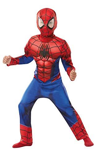 Costume bimbo Spiderman con muscoli