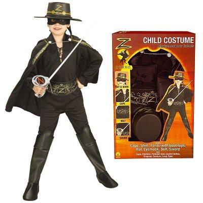 Costume Zorro taglia M
