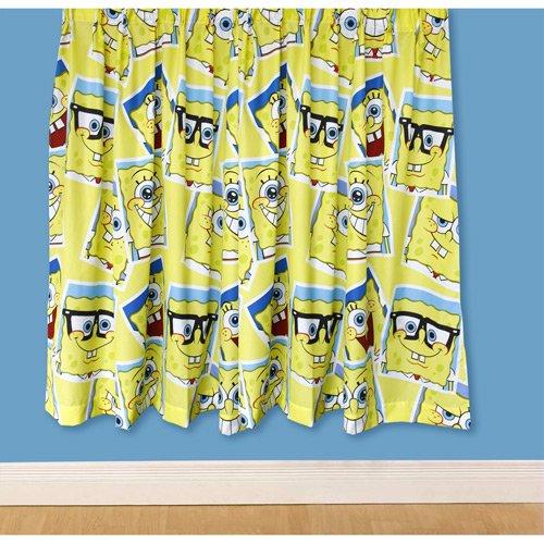 Tende per cameretta Spongebob 182cm