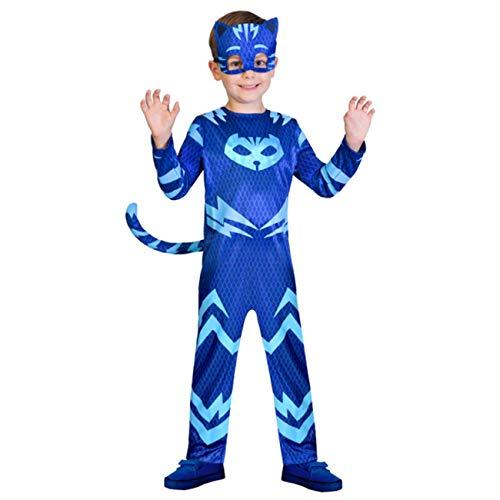 Costume carnevale Pj Masks Gattoboy (5-6 anni) classic