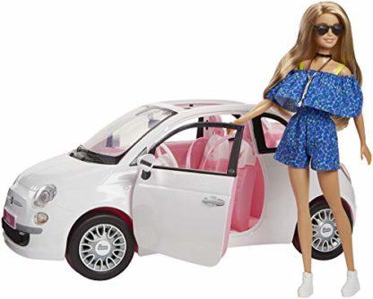 Barbie con Macchina Fiat 500