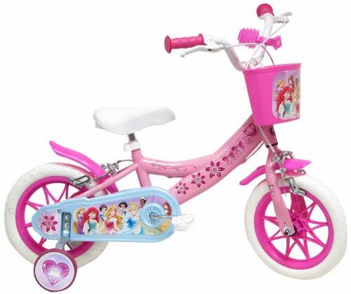 Bicicletta con rotelle Principesse Disney 12 pollici