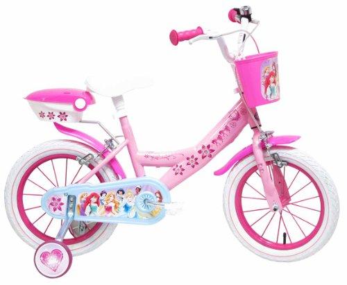Bicicletta con rotelle Principesse Disney 14 pollici