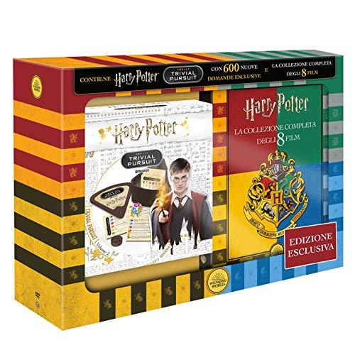 Fan box Harry potter con 8 DVD e Trivial Pursuit
