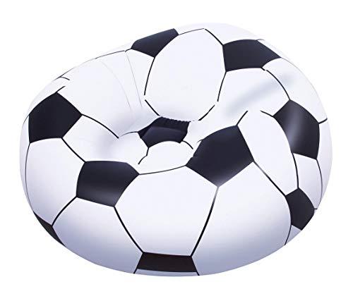Poltrona Pouf Gonfiabile Pallone da Calcio