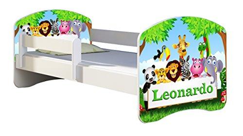 Lettino animali dello Zoo personalizzabile con il nome
