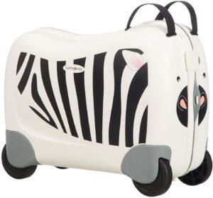 Valigia cavalcabile zebra