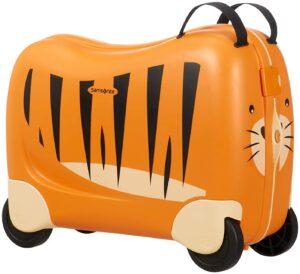 valigia cavalcabile tigre