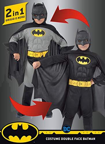 Costume Batman 2 in 1 - Classico e Cavaliere Oscuro